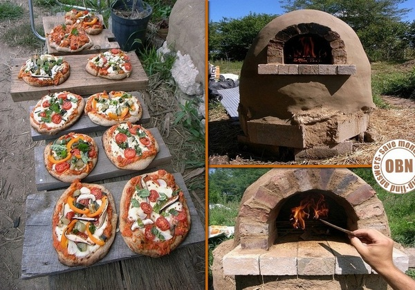 Build Your Own $20 Outdoor Cob Pizza Oven DIY Tutorial - DIY Outdoor Wood Fired Pallet Pizza Oven
