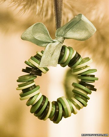 Button Crafts for Christmas Decorations7