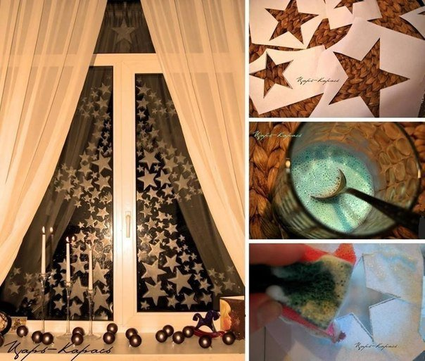 more diy ideas - Diy Christmas Window Decorations