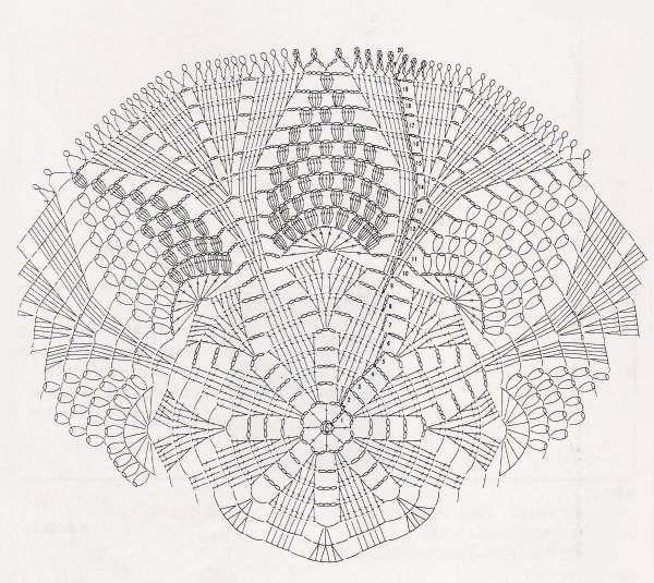 DIY Crochet Grape Coaster with Free Pattern Diagram