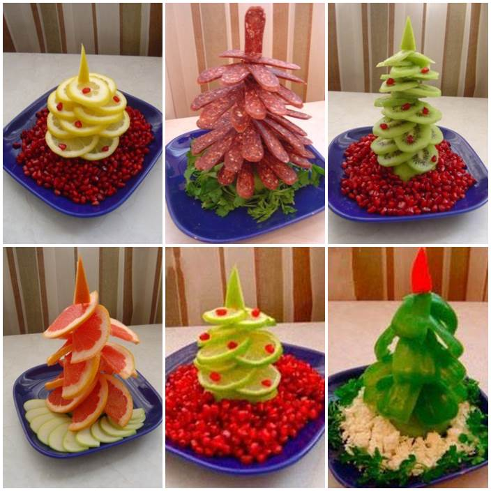 How to DIY Edible Christmas Tree Platter