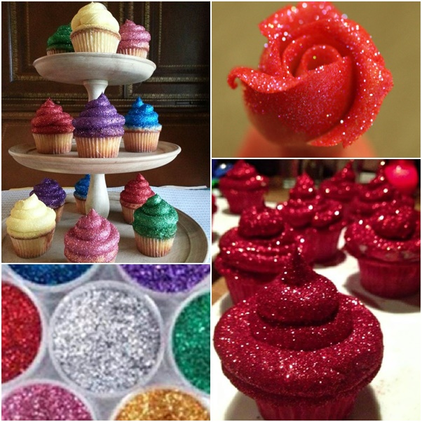 How To Make Edible Glitter For Cakes