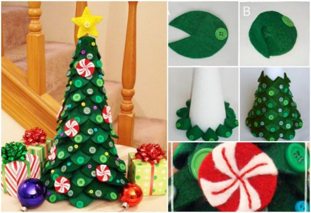 DIY Felt Christmas Tree tutorial