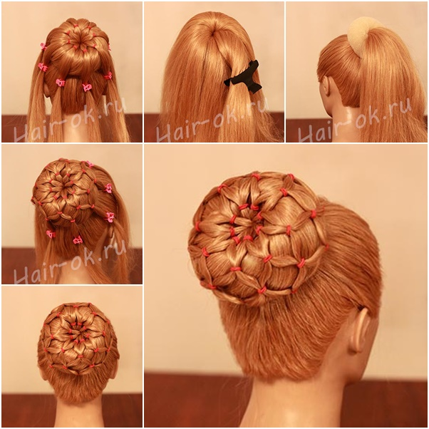 Hairstyle Bun : Donut Bun With Long Hair newhairstylesformen2014.com