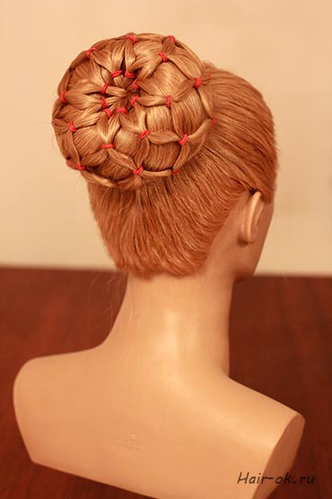 How To Diy Easy Sock Bun Updo Hairstyle With Elastic Web