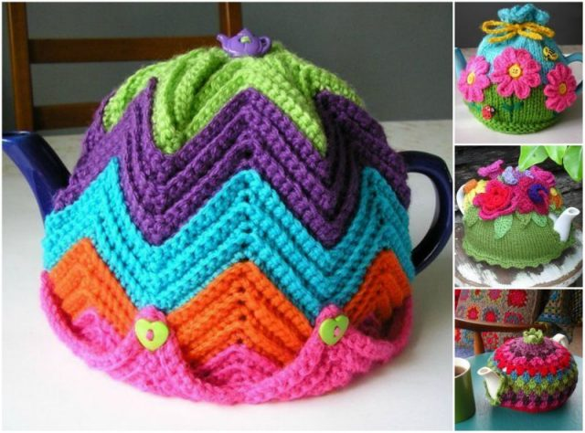 DIY Crochet Tea Cozy Free Pattern