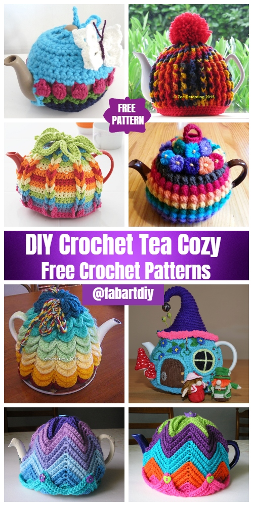 DIY Crochet Tea Cozy Free Crochet Patterns