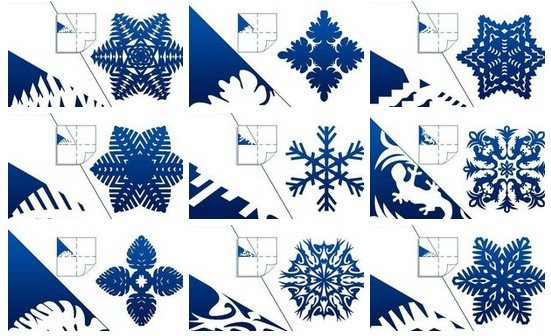 Paper Snowflakes Template Archives FAB ART DIY Tutorials Beauteous Paper Snowflake Pattern