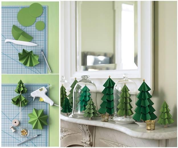 DIY Modular Paper Christmas Tree Tutorial