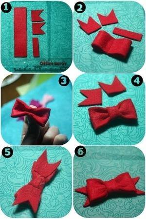 Gift Topper DIY Tutorial11- DIY Felt Bow gift Topper Tutorial