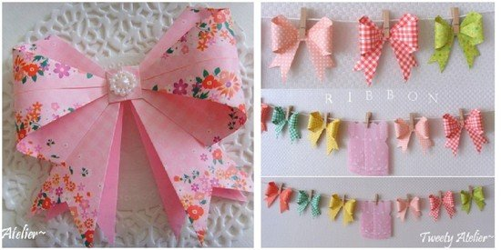 DIY Gift Topper DIY Tutorial16 - DIY Paper Bow Gift Topper Tutorial