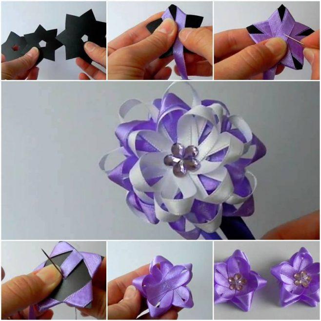 DIY Gift Topper DIY Tutorial16 - DIY Ribbon Bow Gift Topper Tutorial
