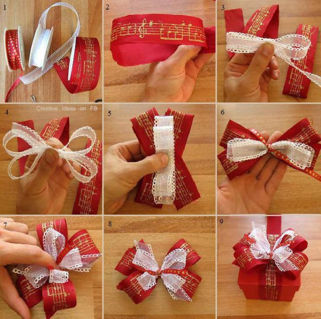 20 Diy Gift Bow Topper Ideas And Tutorials