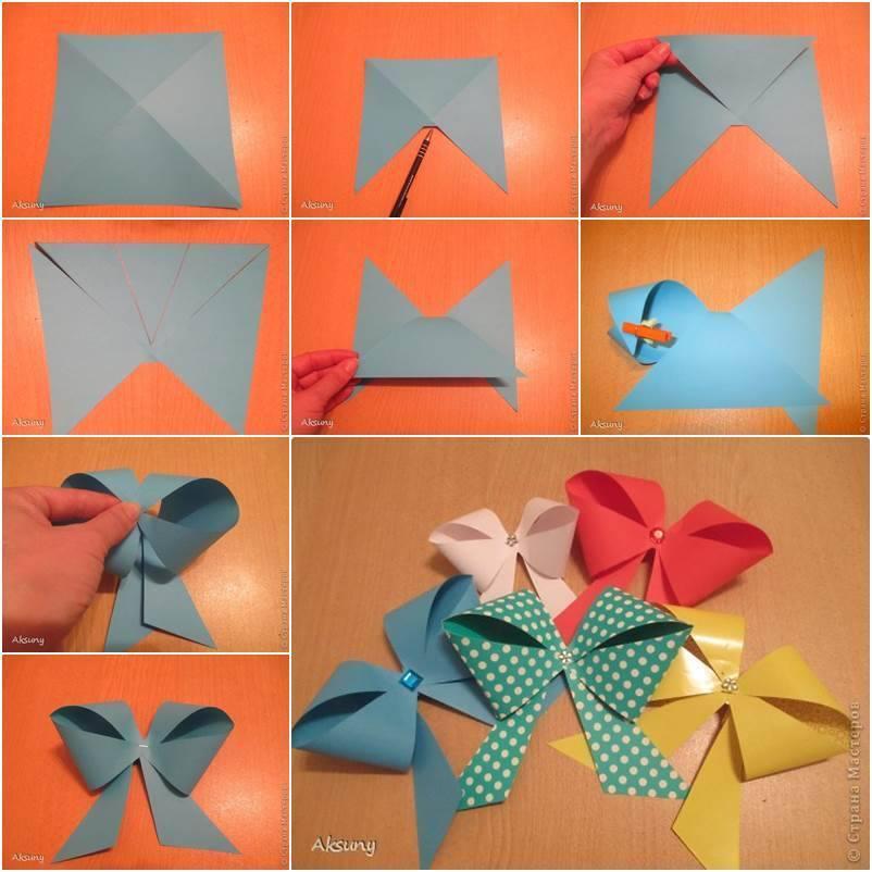 Как сделать из бумаги подарок оригами