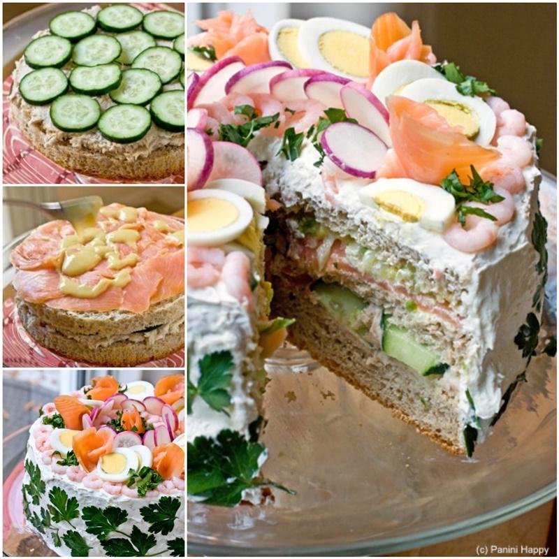 DIY Delicious Swedish Sandwich Cake Tutorial