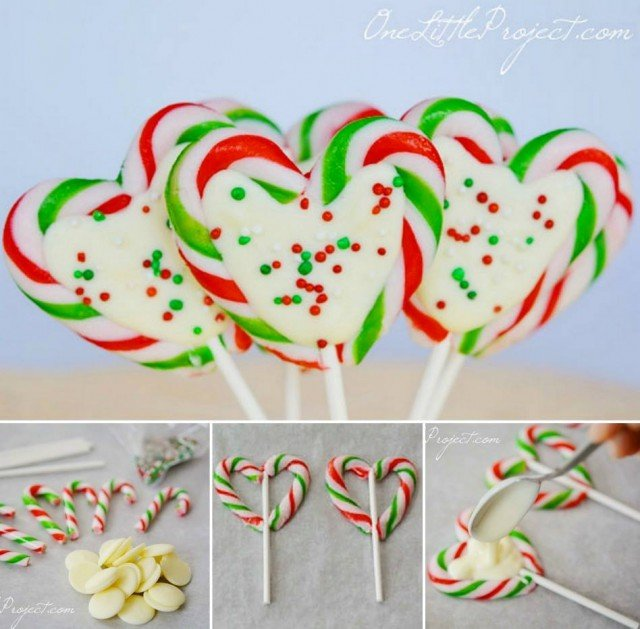 DIY Candy Cane Hearts Recipe