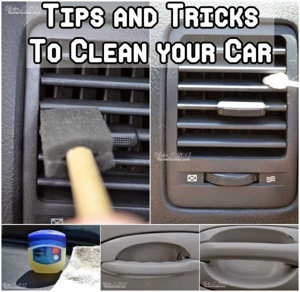 Tips and Tricks on how to Clean Your Car