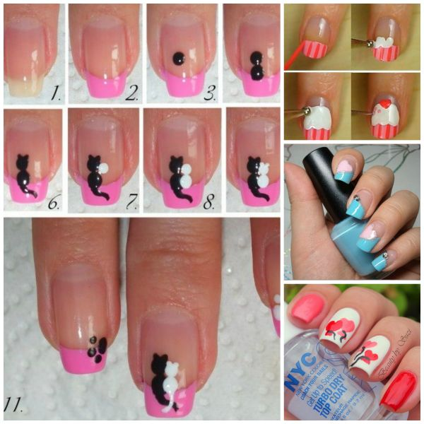 Valentine's Day Nail Art DIY Ideas that ... - 30+ Valentine's Day Nail Art DIY Ideas That You'll Love
