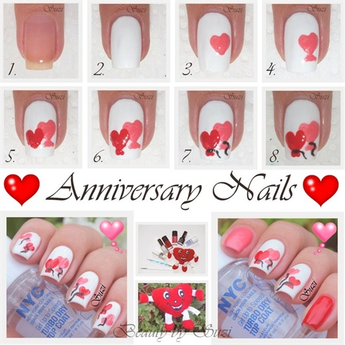 Valentine's Day Nail Art DIY Ideas that You'll Love14