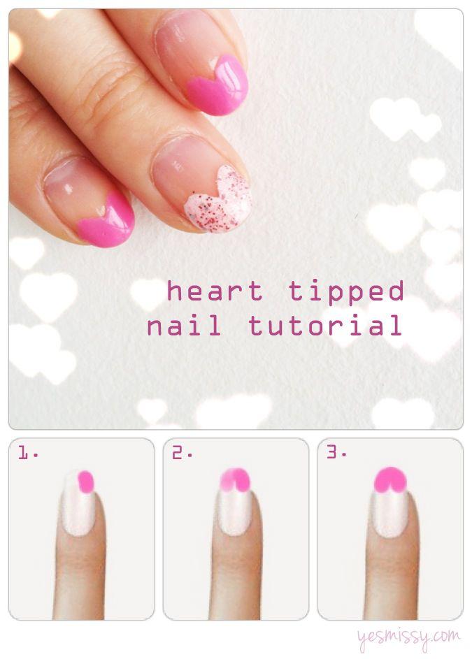 Valentine's Day Nail Art DIY Ideas that You'll Love17