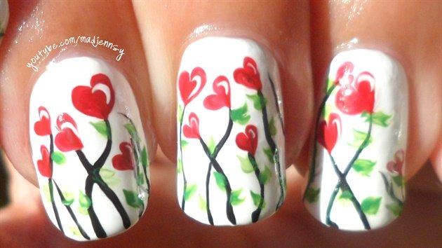 Valentine's Day Nail Art DIY Ideas that You'll Love25