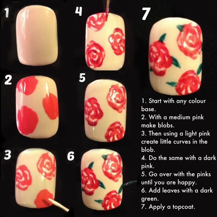 30 valentines day nail art diy ideas that youll love cool ass rose tutorial valentines day nail art diy ideas that youll love26 publicscrutiny Gallery