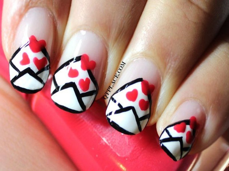 30 Valentines Day Nail Art Diy Ideas That Youll Love