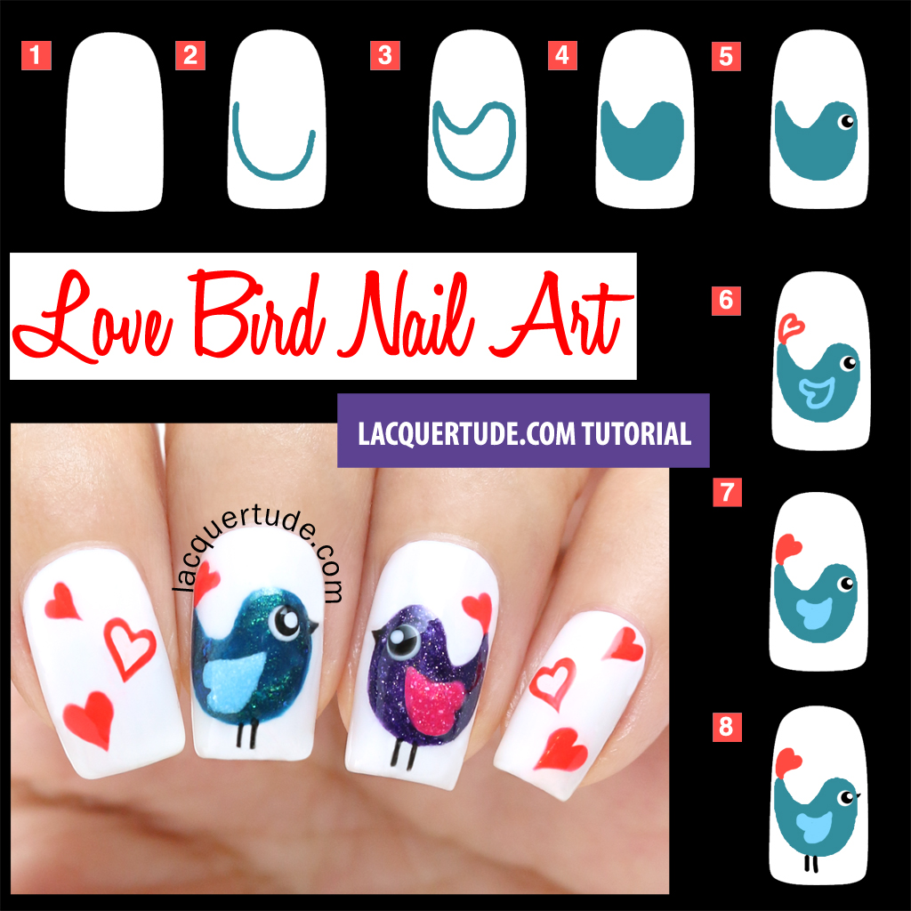 30+ Valentine\'s Day Nail Art DIY Ideas that You\'ll Love