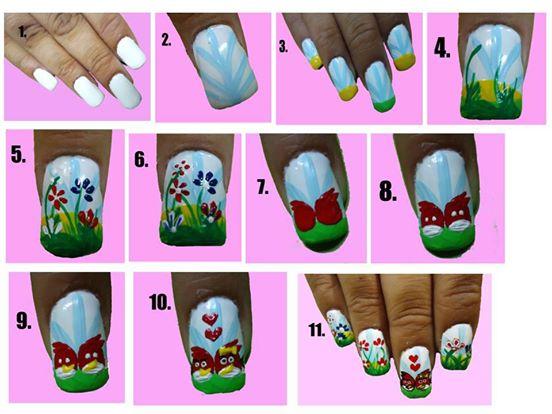 Valentine's Day Nail Art DIY Ideas that You'll Love42