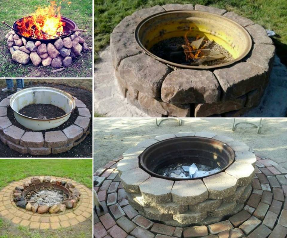 40+ DIY Fire Pit for your Backyard33