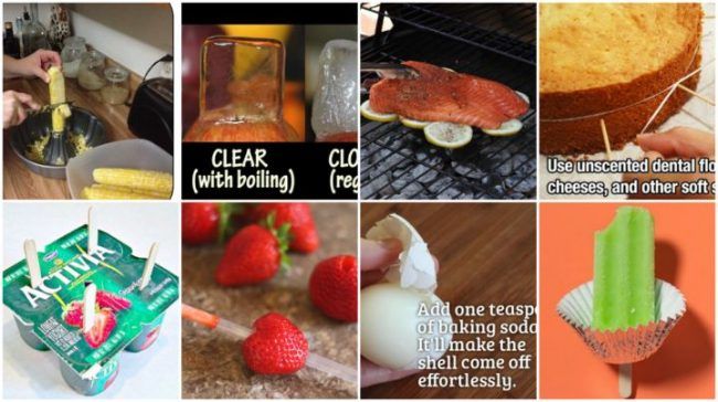 40 Kitchen Tips and Tricks that will change your life