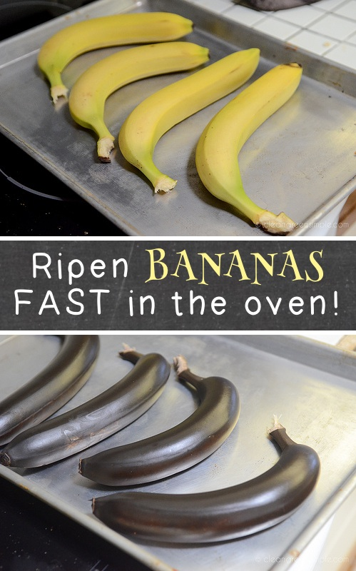 40 Kitchen Tips and Tricks -how to Ripen Bananas Quickly