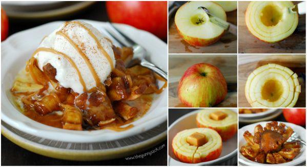 DIY Blooming Baked Apples Recipe