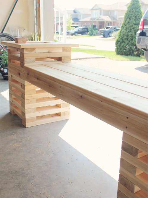 Cedar-Bench-Bench-Boards