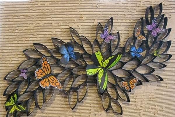 DIY 3D Paper Roll Flower Art