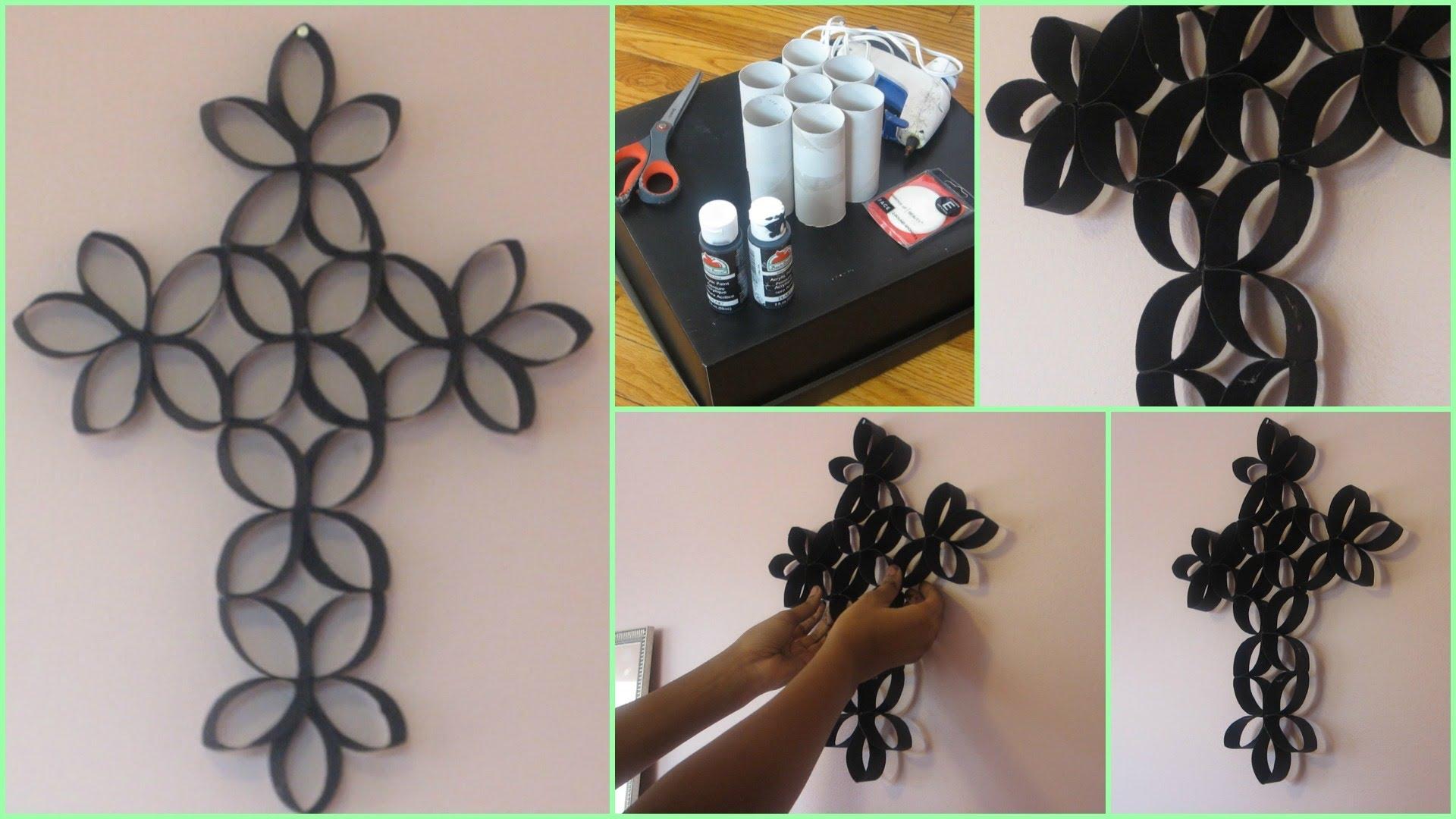 Diy 3d Paper Roll Flower Wall Art