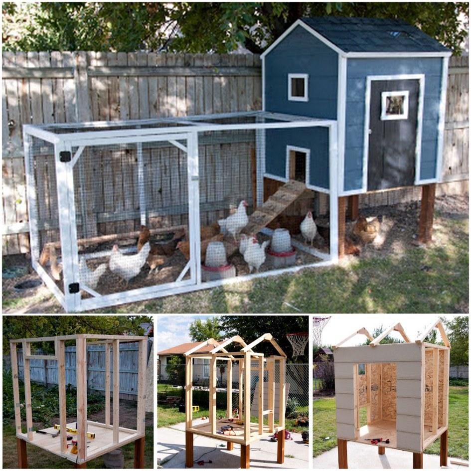 DIY Backyard Chicken Coop10
