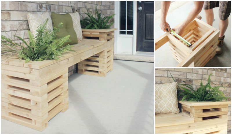DIY  Cedar Bench
