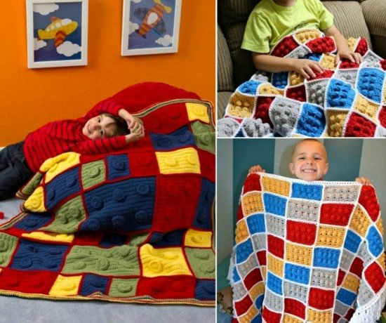Crochet Lego Blanket : Youtube - How to crochet lego blanket free pattern tutorial