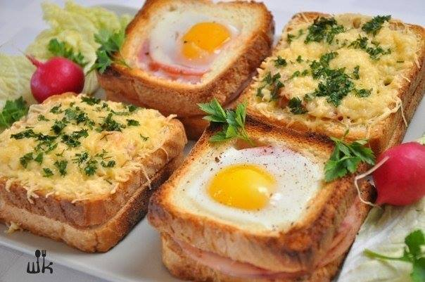 DIY Delicious sandwich as breakfast1