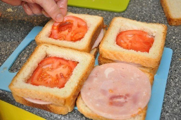 DIY Delicious sandwich as breakfast8