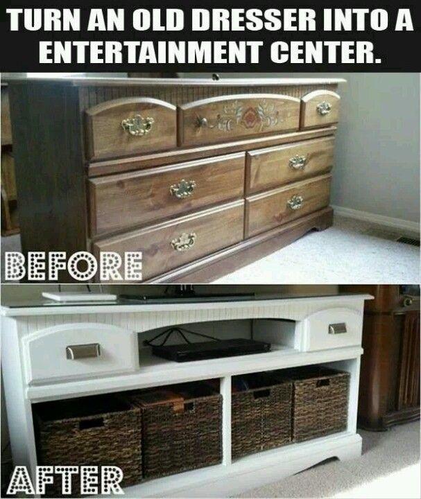 DIY Ideas and Tutorials to Transform Old Dresser0