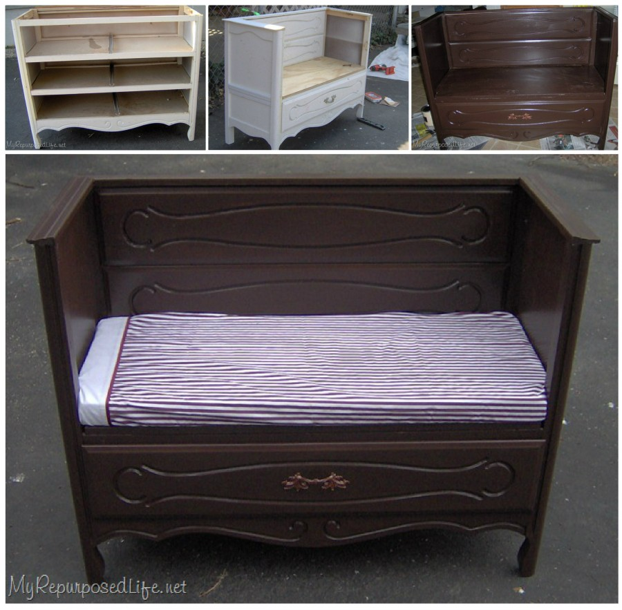 DIY Ideas and Tutorials to Transform Old Dresser2