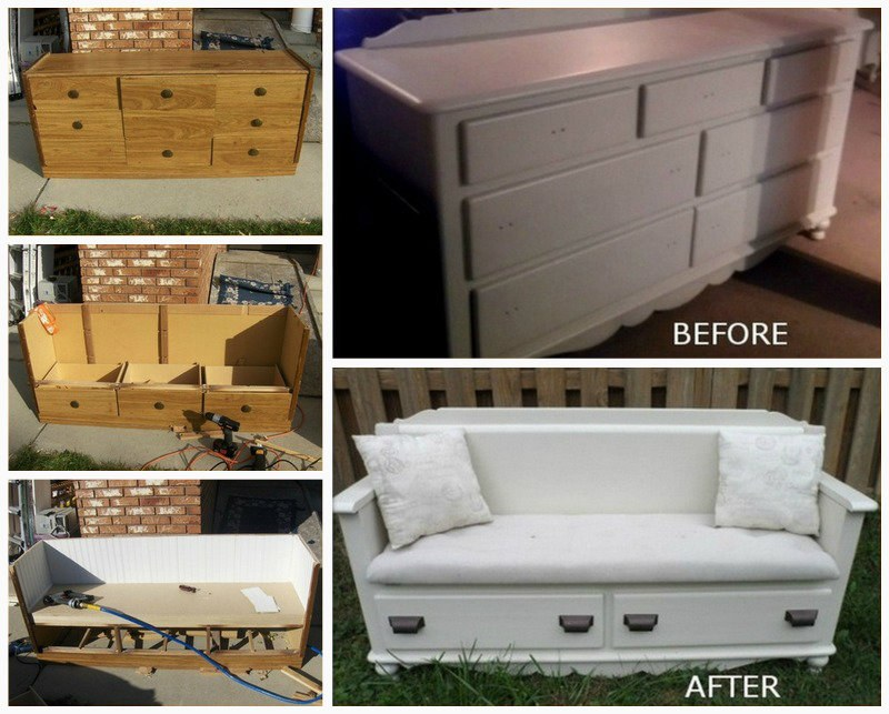 20 Fabulous Diy Ideas And Tutorials To Transform An Old