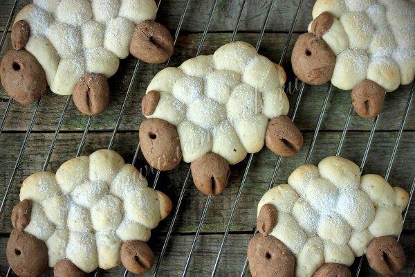 DIY Lamb Shaped Cookie7