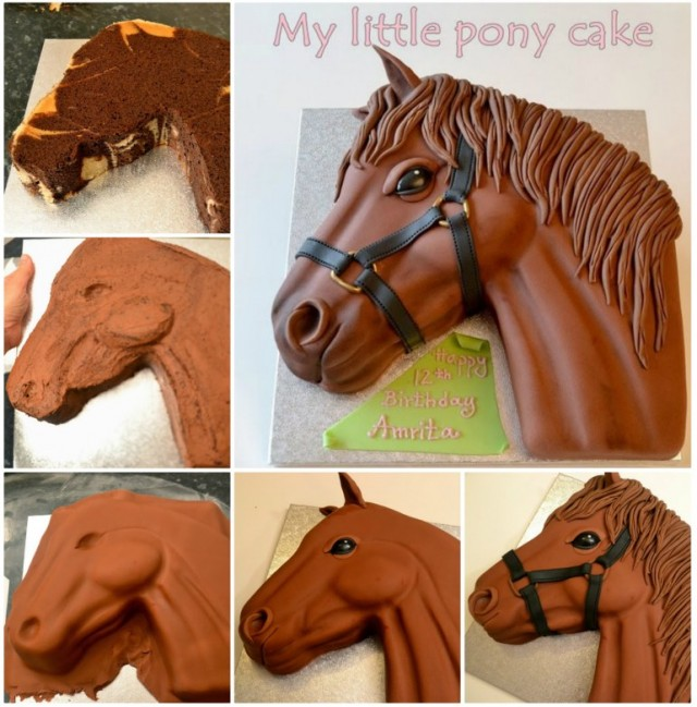 DIY Little Pony Cake Design Tutorial