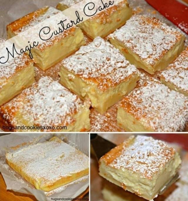 DIY Magic Custard Cake recipe