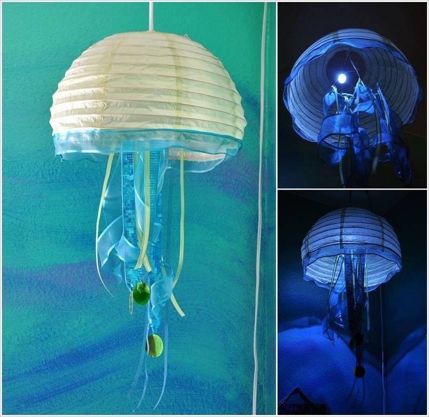 DIY Paper Lanterns and Lamps11