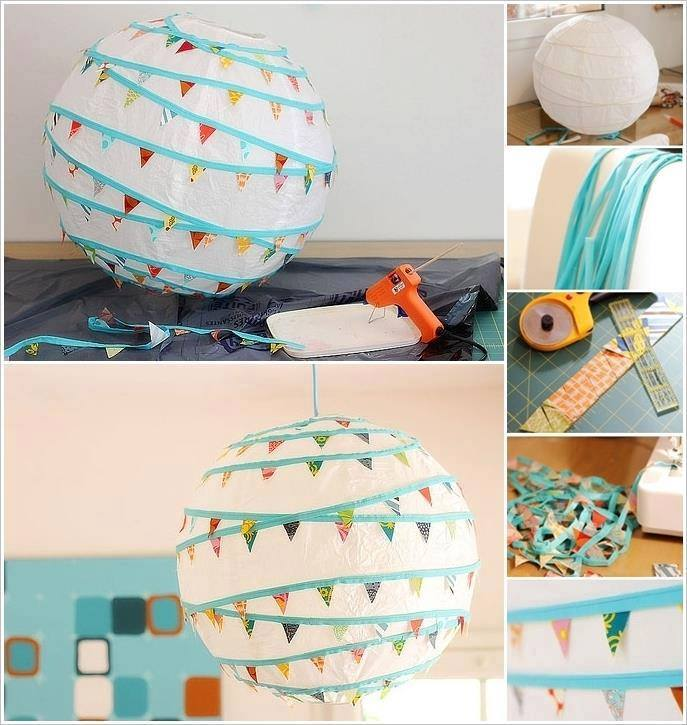 DIY Paper Lanterns and Lamps15