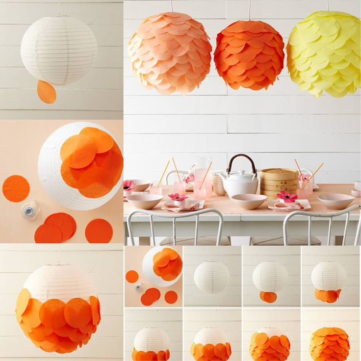 DIY Paper Lanterns and Lamps17